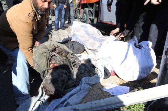 attentat à Damas