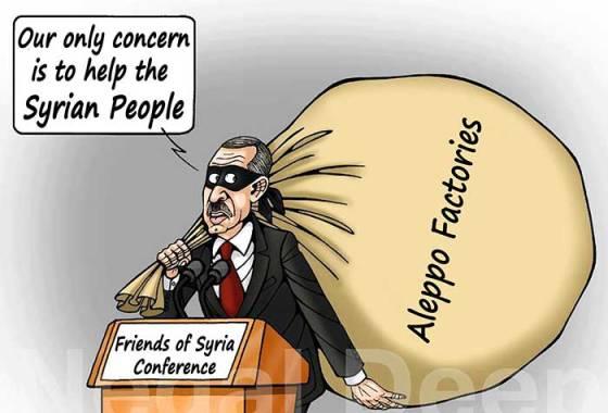 Syrie : Le pilleur d'Alep !