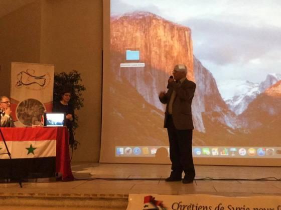ahmed manai conférence chrétiens de syrie